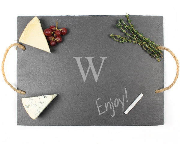 Personalized Slate Serving Board | My Wedding Favors