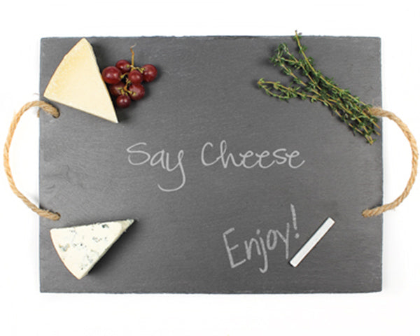 Say Cheese Slate Serving Board