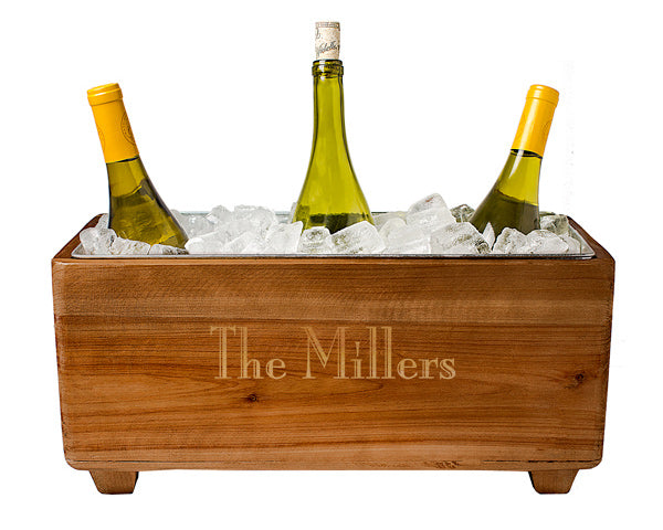 Personalized Wooden Wine Chest