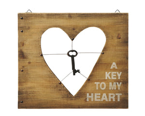 Key to my Heart Metal Wall Decoration | My Wedding Favors