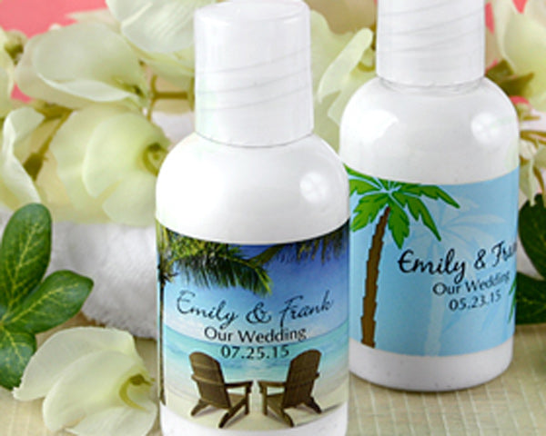 Personalized Hand Lotion Favors (Many Designs are Available) | My Wedding Favors