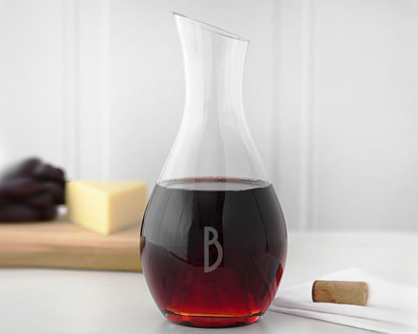 Personalized 30 oz. Aerating Wine Decanter