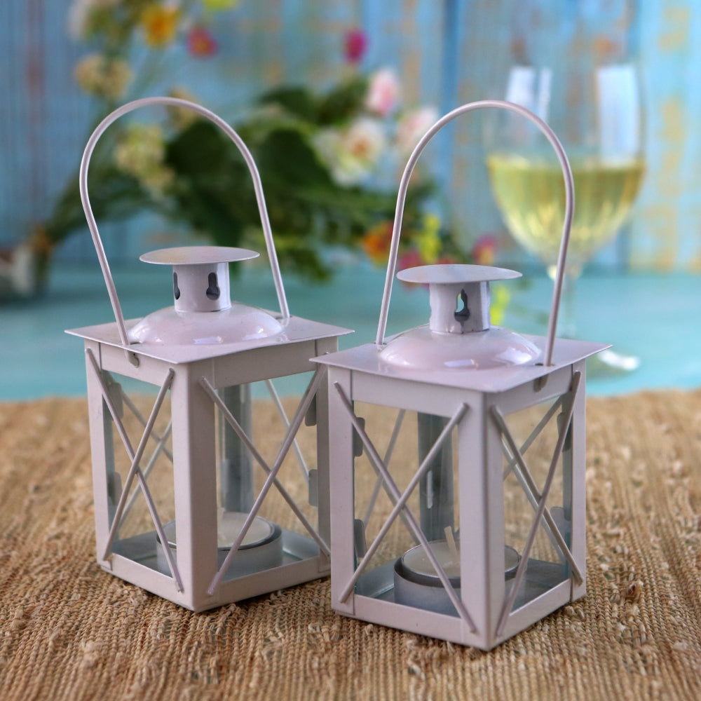 Luminous White Mini-Lanterns