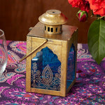 Indian Jewel Sapphire Blue Lantern
