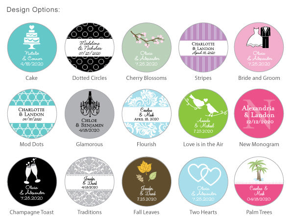 "Personalized 2.25"" Magnets - Exclusive Designs"