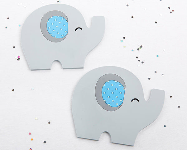 Little Peanut Elephant Coaster (Blue)