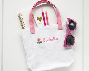 Personalized Flower Girl Tote Bag