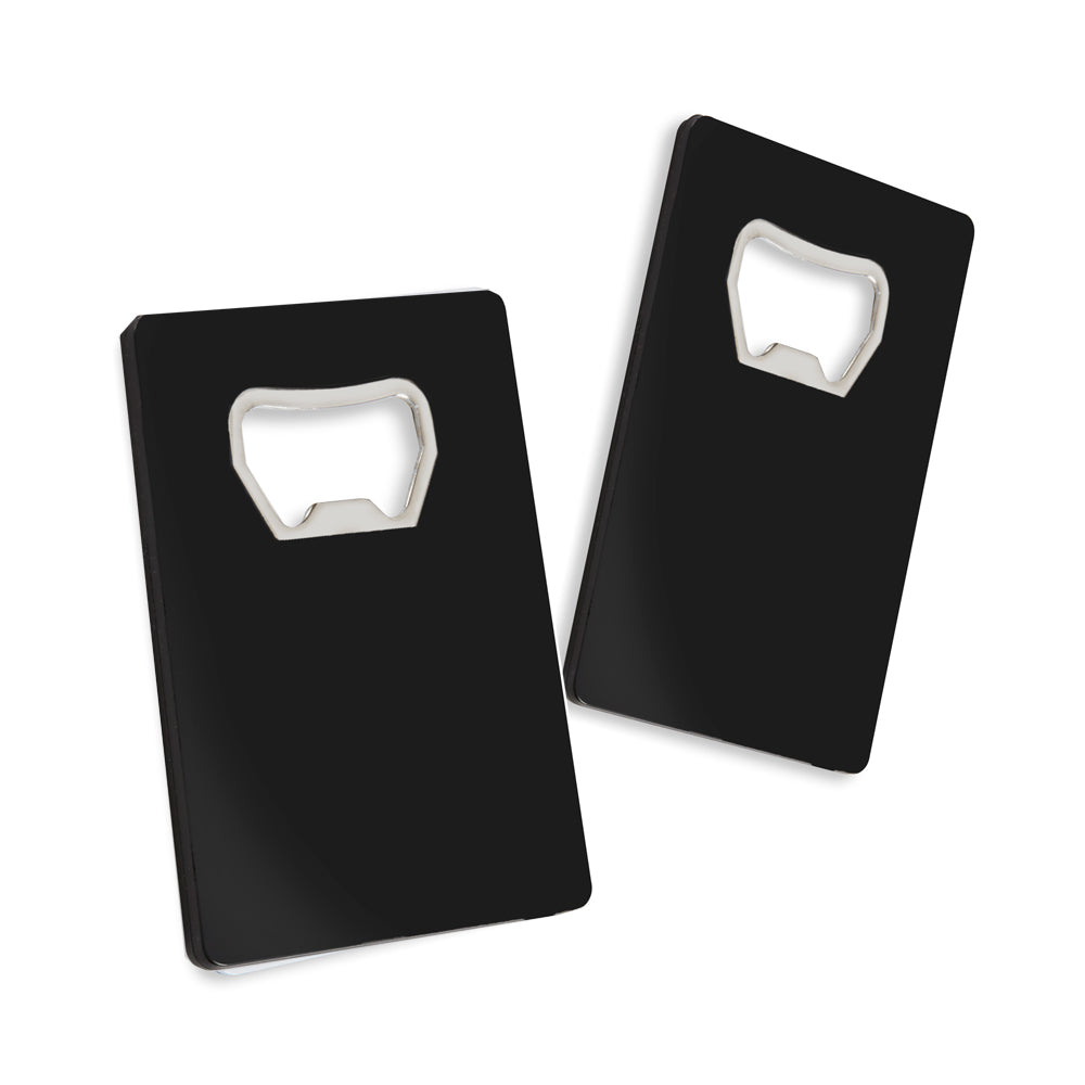 DIY Credit Card Bottle Opener (Black or White)
