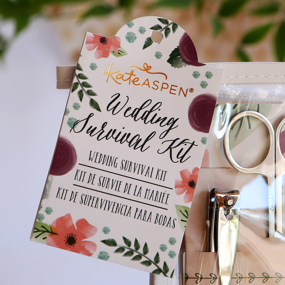 Floral Wedding Survival Kit