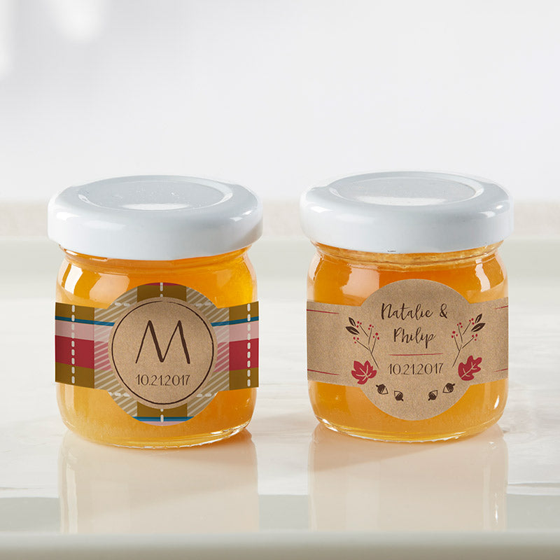 Personalized Fall Clover Honey (Set of 12)