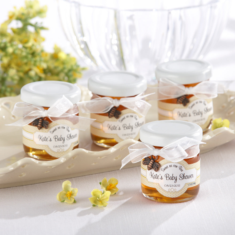 Sweet as Can Bee Personalized Clover Honey (Set of 12)