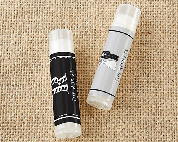 Personalized Wedding Lip Balm (Set of 12)