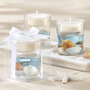 Load image into Gallery viewer, Seashell Gel Tea Light Holder