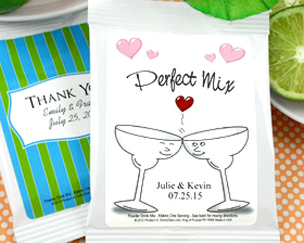 Personalized Wedding Margarita Favors (Many Designs Available) | My Wedding Favors