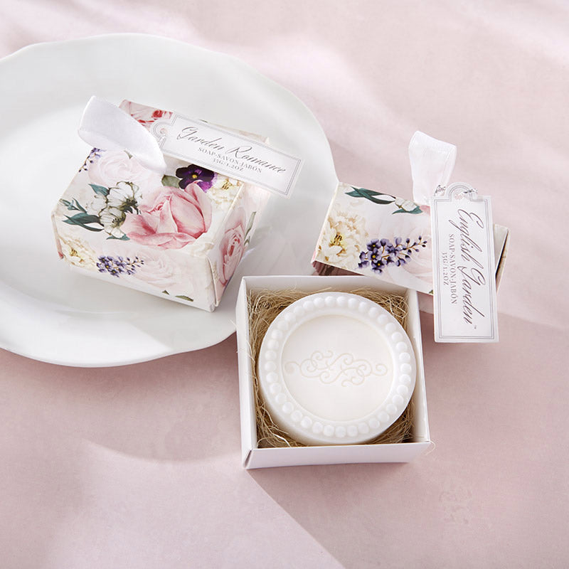 English Garden Soap In Floral Box