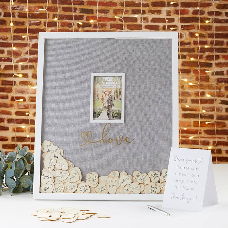 Frame Wedding Guest Book Alternative - Wedding Decoration