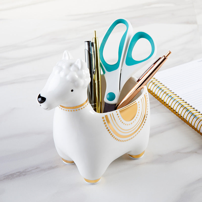Llama Ceramic Phone Amplifier
