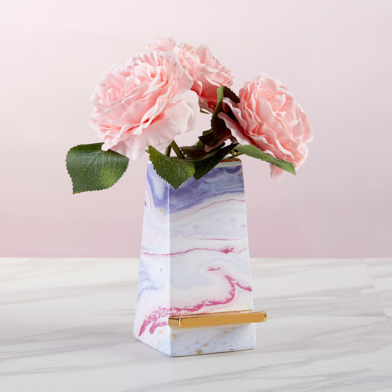 Load image into Gallery viewer, Marble Ceramic Phone Stand