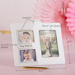 Now & Then Ceramic Photo Frame