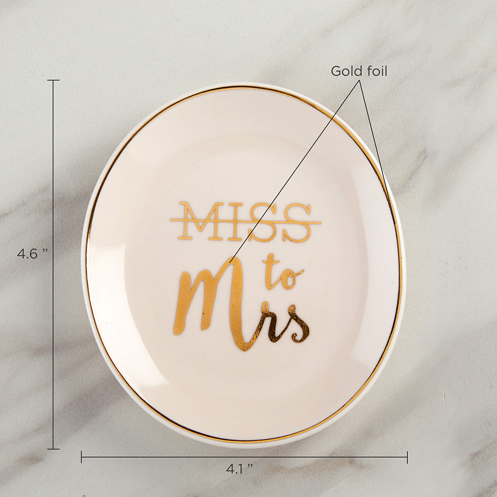 Load image into Gallery viewer, Miss to Mrs. Trinket Dish