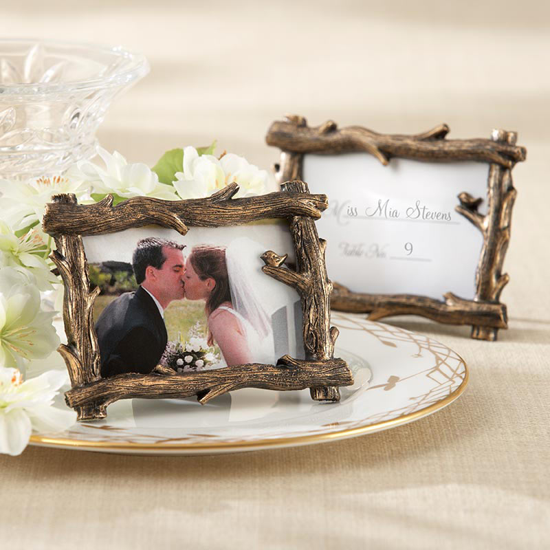 Fall Branch Place Card Holder/Photo Frame Favor