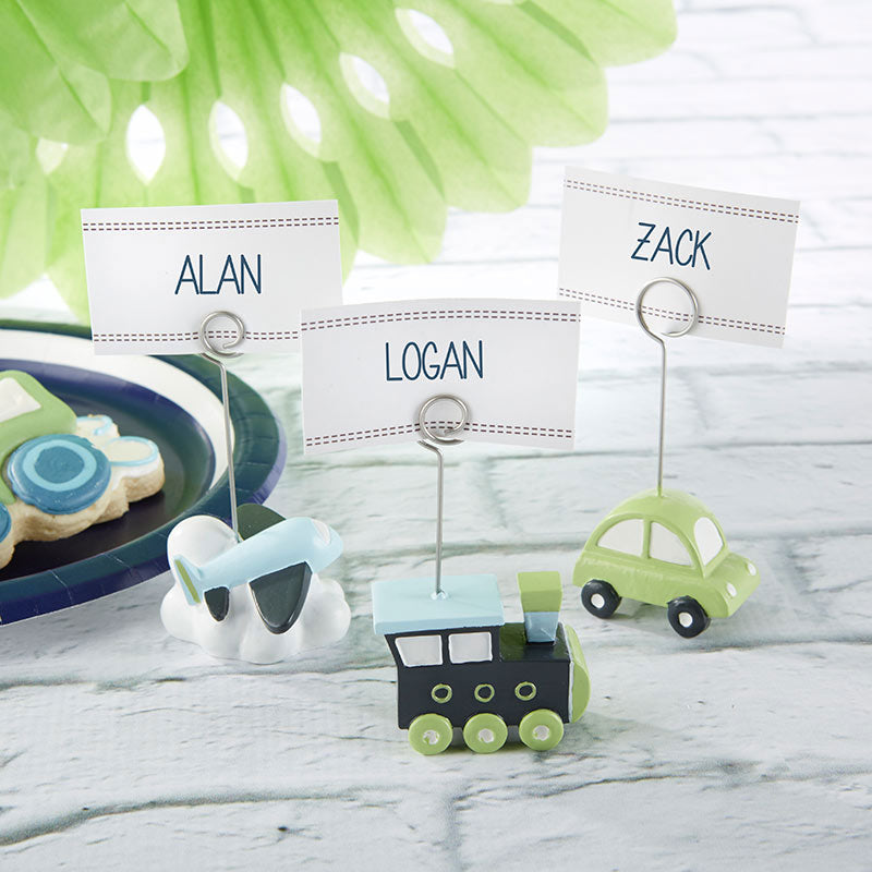 Precious Cargo Transportation Place Card Holder - Assorted (Set of 6)