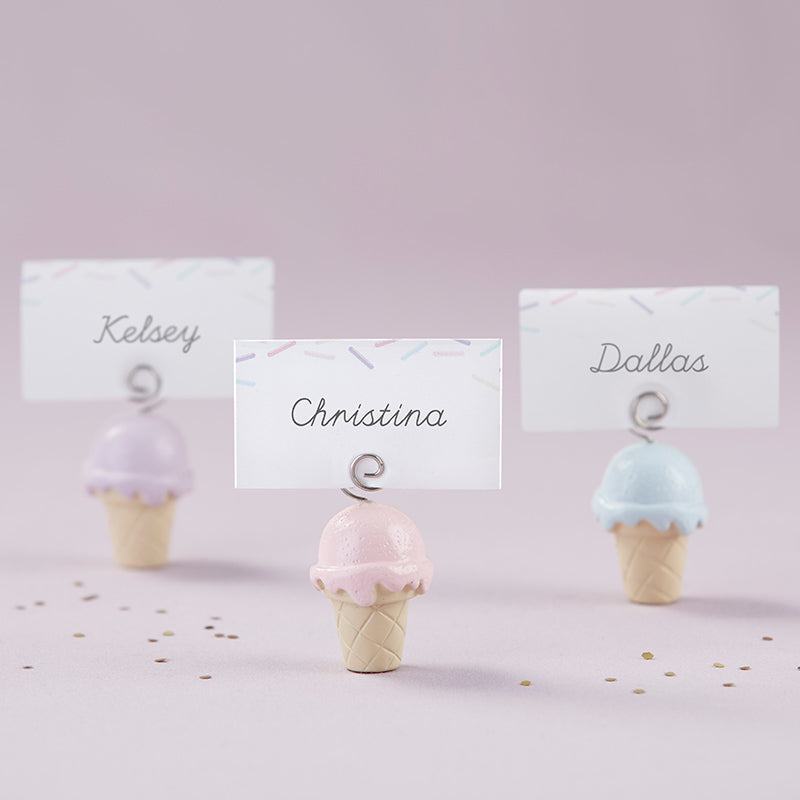 Ice Cream Place Card Holder (Set of 6)