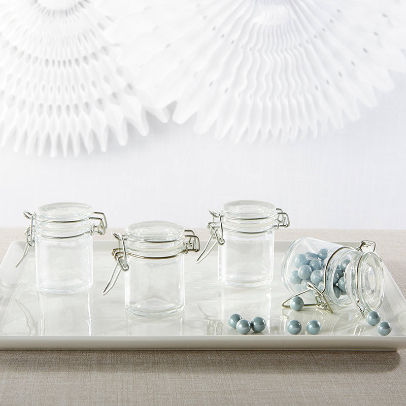 DIY Glass Favor Jars (Set of 12)