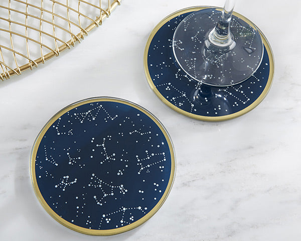 Under the Stars Glass Coaster (Set of 2)