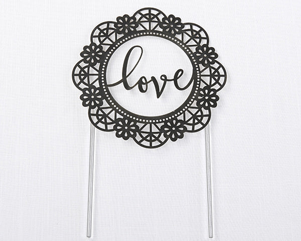 Load image into Gallery viewer, Love Lasercut Cake Topper