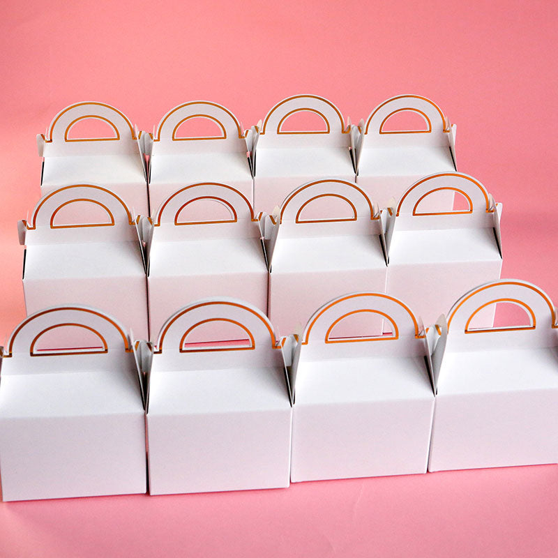 DIY Gable Favor Box (Set of 12)