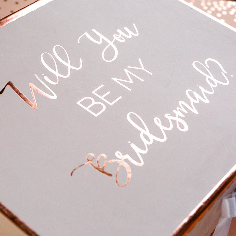 Will You Be My Bridesmaid Kit Gift Box