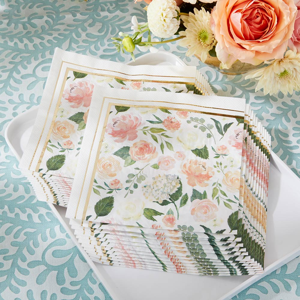 Floral Napkins (Set of 30)