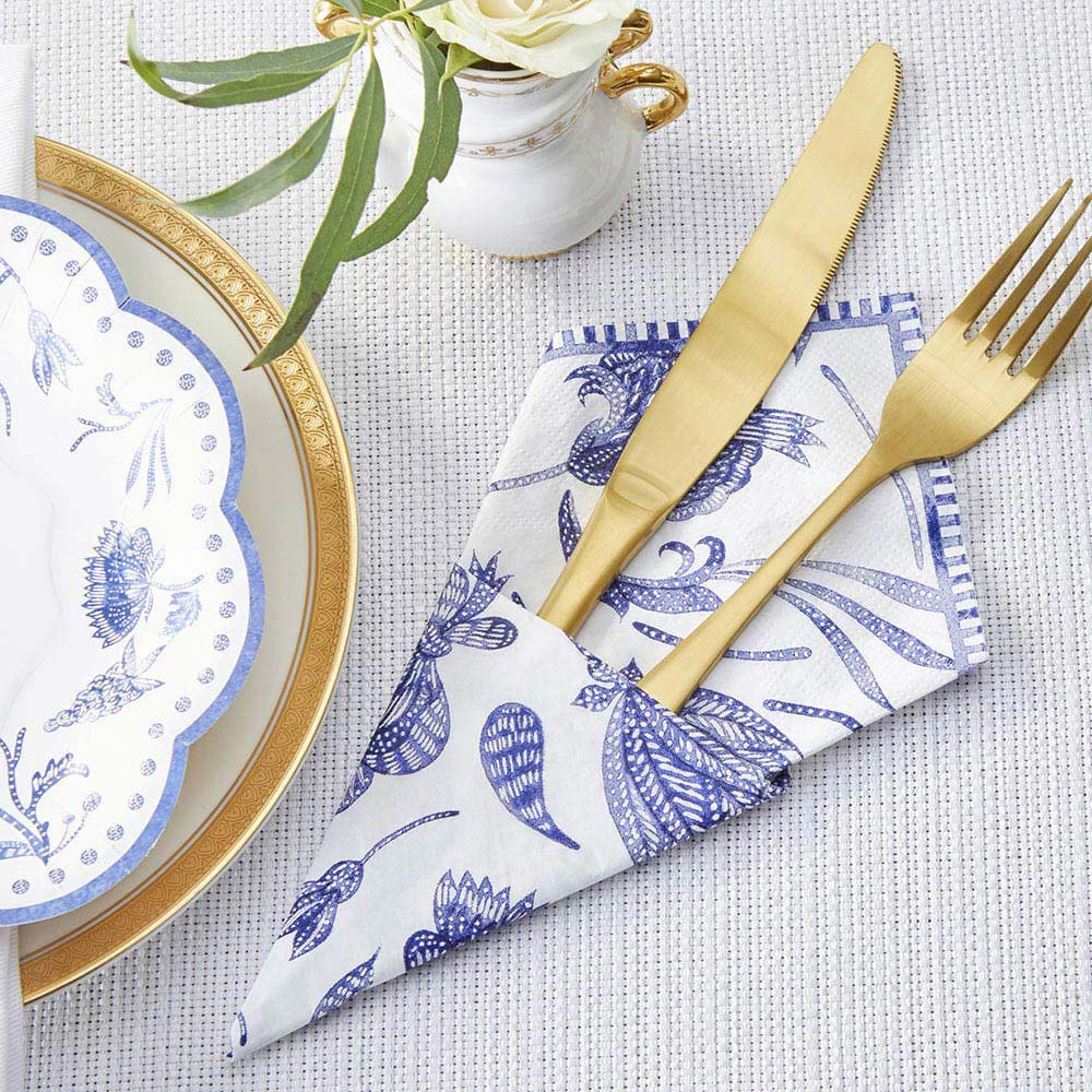 Blue Willow 2 Ply Paper Napkins (Set of 30)