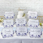 Blue Willow Décor Sign Kit (Set of 8)