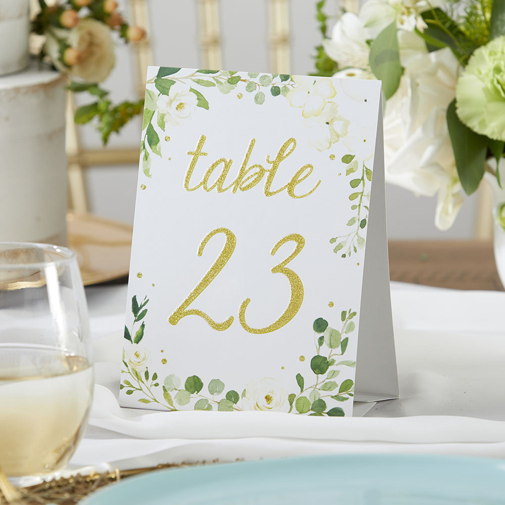 Load image into Gallery viewer, Botanical Garden Wedding Table Numbers (1-25)