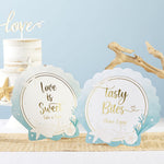 Beach Party Décor Sign Kit (Set of 8)
