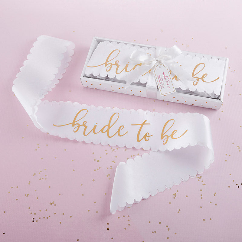 Bride To Be Satin Sash