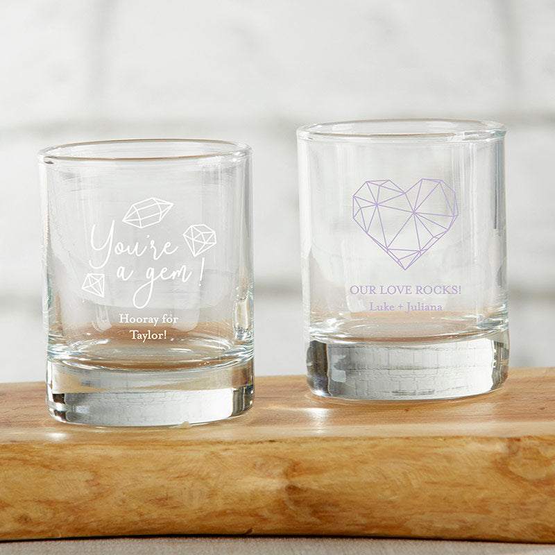 Personalized Elements 2 oz. Shot Glass/Votive Holder