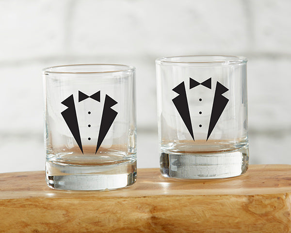 Tuxedo 2 oz. Shot Glass (Set of 4)