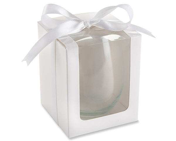 Personalized Birthday 9 oz. Stemless Wine Glass