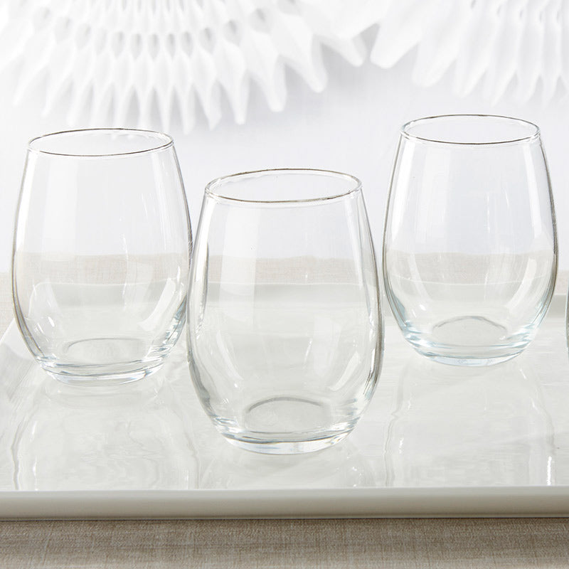 DIY 15 oz. Stemless Wine Glass