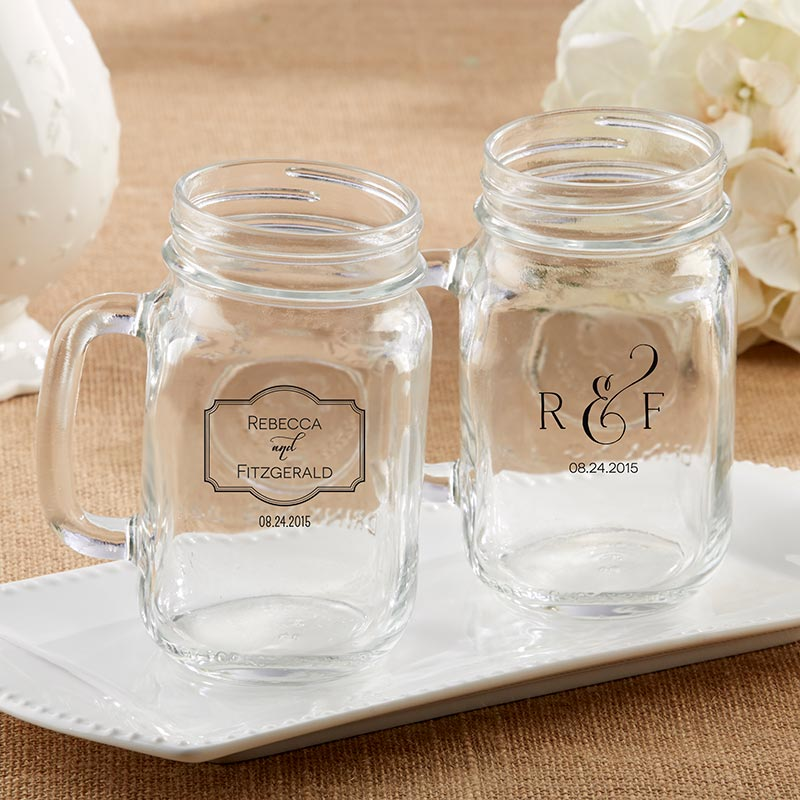 Personalized Classic 16 oz. Mason Jar Mug