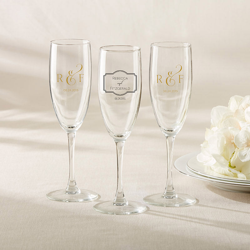 Personalized Classic Champagne Flute