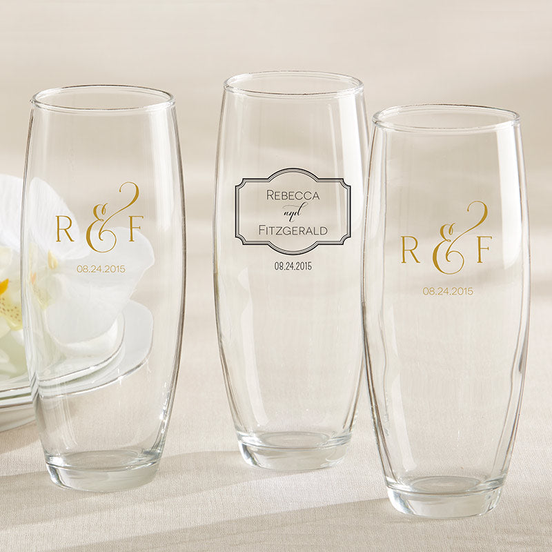 Personalized Classic 9 oz. Stemless Champagne Glass