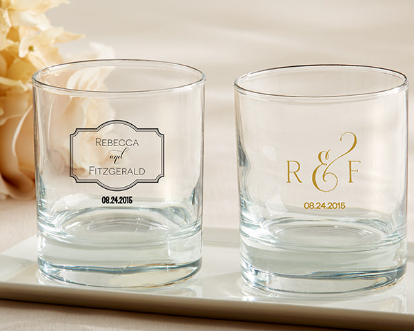 Personalized Classic 9 oz. Rocks Glass