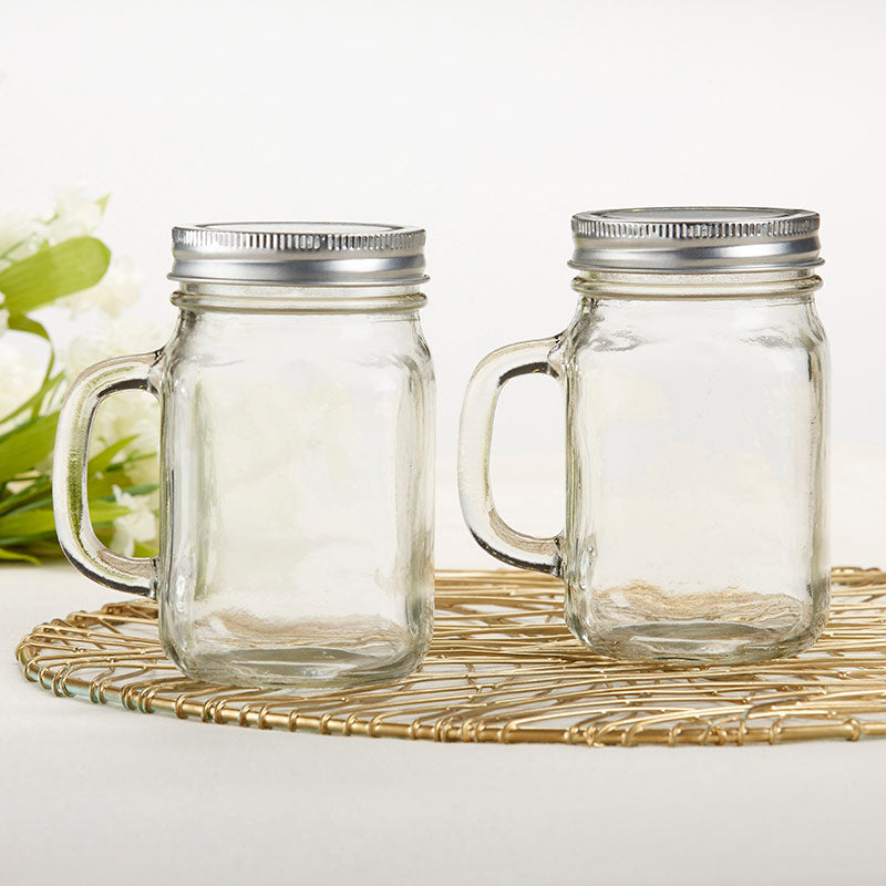DIY 12 oz. Mason Jar Mug with Lid