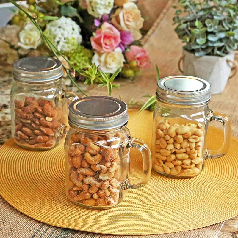 DIY 12 oz. Mason Jar Mug