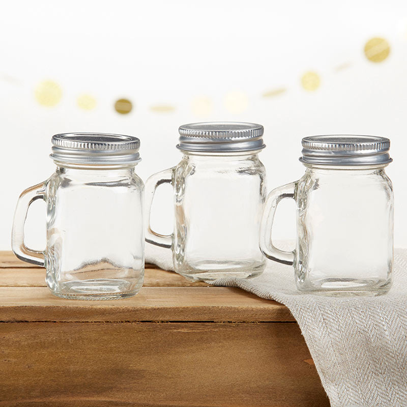 DIY 4 oz. Mini Mason Mug Shot Glass with Lid