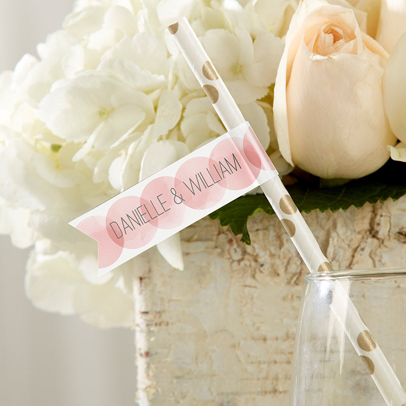 Personalized Wedding Party Flags